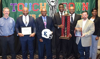 The Elsik High School football program was presented the Class 6A Sportsmanship Award at the Houston Touchdown Club's High School Sportsmanship Luncheon.