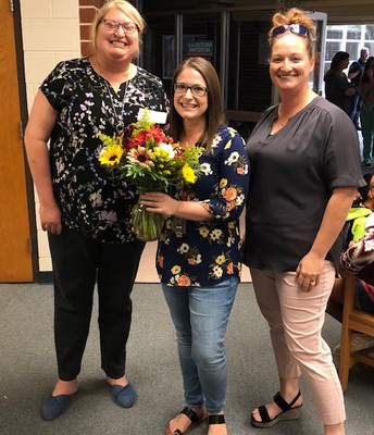 Mrs. Thomas- Employee of the Year!