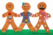 Write Directions for creating your Gingerbread Man!!