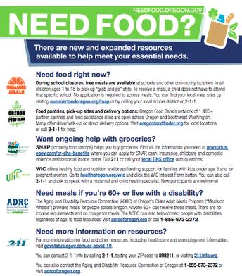 Need Food?