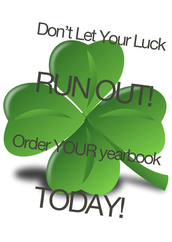Missed the Yearbook Deadline? It's Your LUCKY Day!