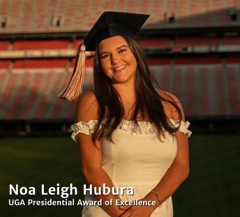 Student Spotlight:  Noa Leigh Hubara