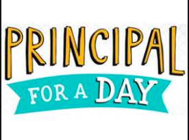 Great Job Matilda Sproule- Principal for the (half) Day!