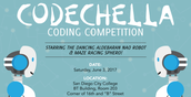 2017 Codechella: Coding Competition at SDCC on June 3rd