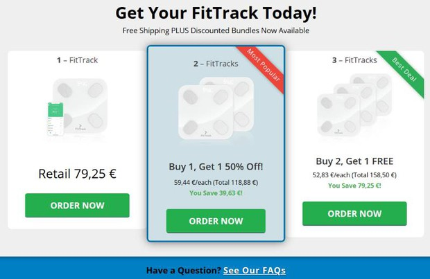 buy FitTrack Scale
