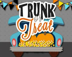 Trunk or Treat-Sunday, October 27, 3-5PM