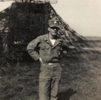 Ms. Michelle Clark's grandfather, Merlin Recker
