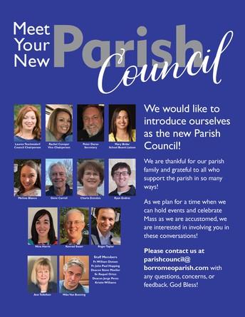 Meet our Parish Council