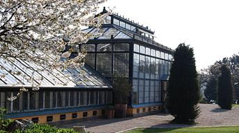 Paradehus/Orangeriet vid Gisselfeld slot och kloster