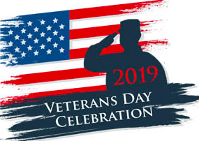 November 8, Veteran's Day Celebration