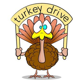 Turkey Drive And Food Drive Monday 11/19/18