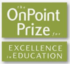 OnPoint Prize for Excellence in Education