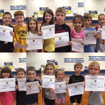 PBIS Award Winners