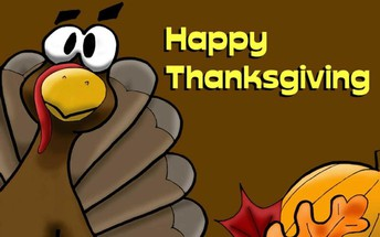 Thanksgiving Break: No School Thursday, November 26th and Friday, November 27th