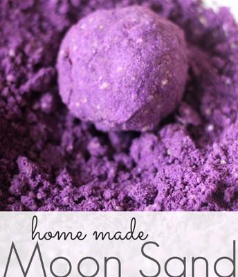 Home-Made Moon Sand Recipe