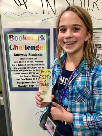 1st Quarter LMC Bookmark Winner