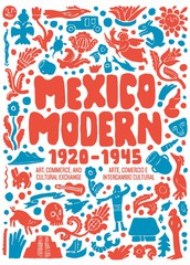 Mexico Modern - New exhibit at Harry Ransom Center