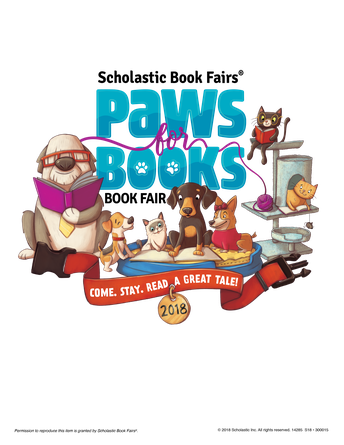 Book Fair Is Here!   2/15 - 2/23