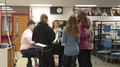 Practicing parts in choir