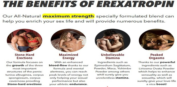 ErexaTropin Benefits