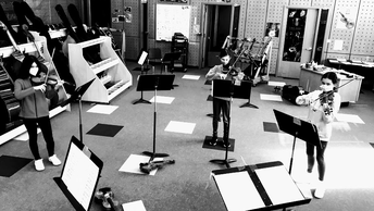 Socially Distanced Orchestra Sectional Lessons