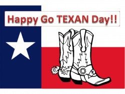 GO TEXAN DAY--FRIDAY, FEBRUARY 28