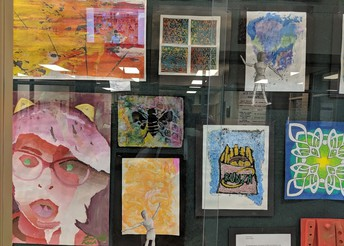 Youth Art Month - Eighth Grade