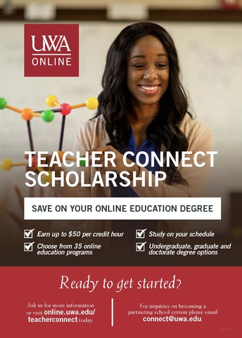 UWA Teacher Connect Scholarship