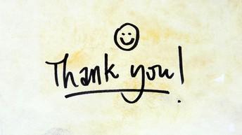 In Gratitude...