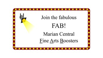 Join the Fine Arts Boosters