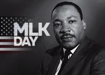 Monday, 1/21/19-MLK Day!