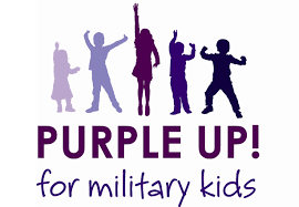 Purple Up Week for our Military Families
