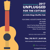 Join us for an event benefiting The Cottage