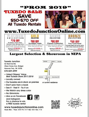 Looking to rent a tux for the prom?