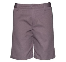 Steel Grey Girls Walking Shorts