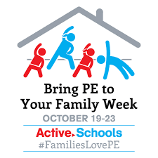 Bring PE to Your Family Week Event: Wednesday, October 21st