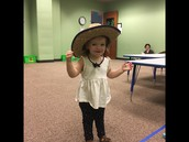 The cutest little cowgirl!