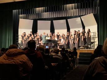 Strickland MS Choir Winter Concert