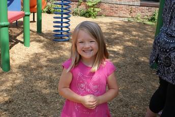 HPS girl engaged in summer learning