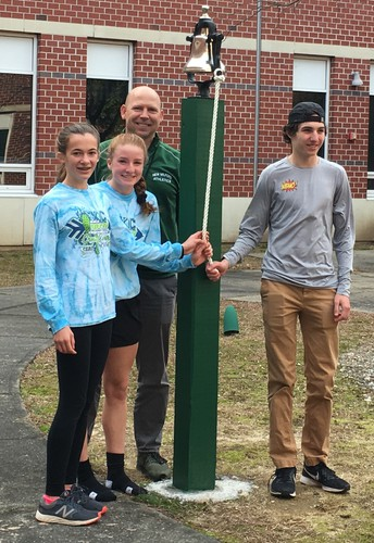 Athletes Recognized at NMHS Victory Bell Ceremony