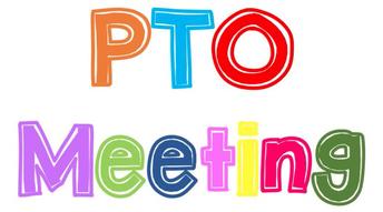 Virtual General PTO Meeting TUESDAY (9/15) @ 7:00pm