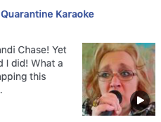 Mrs. Ellis (TMS) is singing in Quarantine Karaoke!