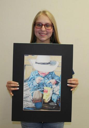 Congressional Art Contest Winner--Leslie Hartman!!