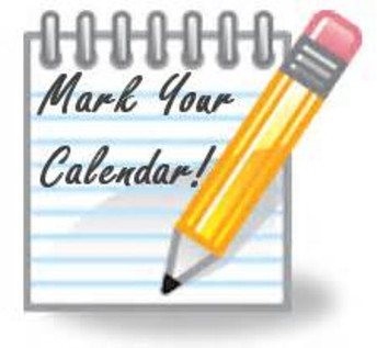 Important Dates for Beginning of 2018-19