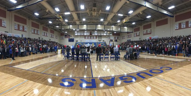 Caldwell High Veterans' Day Ceremony 2018
