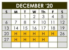 Important Dates in December
