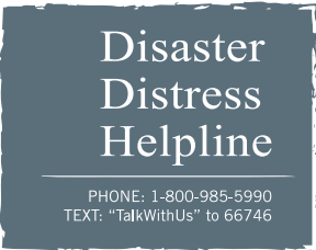 Disaster Distress Helpline (SAMHSA)