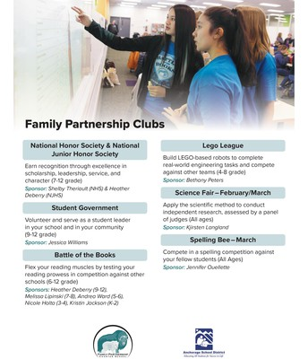 Family Partnership Clubs
