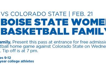 Boise State Women's Basketball Game
