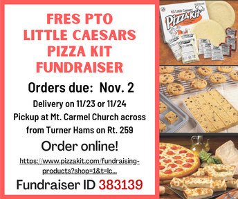 Picture of FRES PTO Fundraiser flyer
